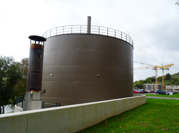 Sewage plant Bleesbruck – Luxembourg