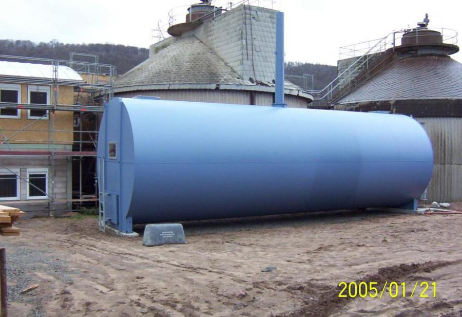 Sewage plant Wertheim – Germany